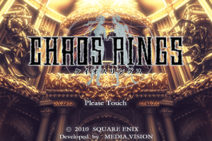 Chaos Rings Title Screen